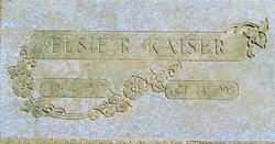 Elsie Ruth <I>Maling</I> Kaiser