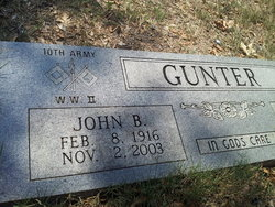 "John Allen ""J.B."" Gunter"