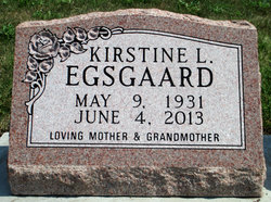 Kirstine Lillian <I>Miller</I> Egsgaard