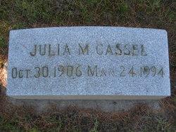 Julia Myra <I>Bradley</I> Cassel