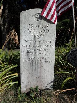 Pvt Francis Willard Perry