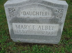 Mary E. Albel
