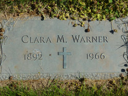Clara M Warner
