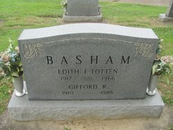 Edith I <I>Totten</I> Basham