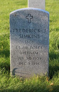 Frederick J Simkins