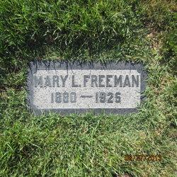 Mary <I>Larsen</I> Freeman
