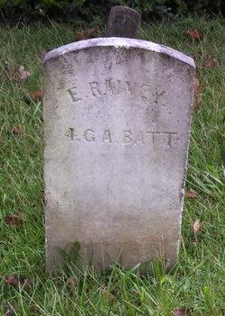 Pvt Enoch John Rainey