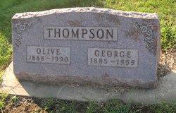 Olive Rebecca <I>Godden</I> Thompson