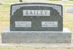Rosalie S. <I>Simms</I> Bailey