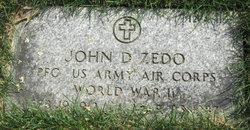 John D Zedo