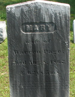 Mary <I>Brown</I> Page