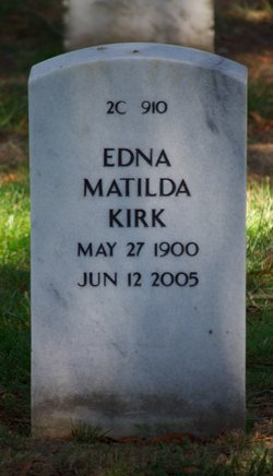 Edna Matilda <I>Benrud</I> Kirk