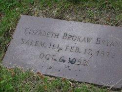 Elizabeth Louise <I>Brokaw</I> Bryan