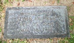 Susie <I>Isaac</I> Dupree