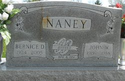 Bernice Laverne <I>Dorris</I> Naney