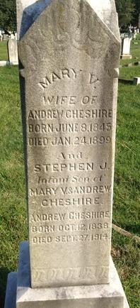 Mary Virginia <I>Penn</I> Cheshire