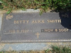 Betty Alice <I>Stoneking</I> Smith