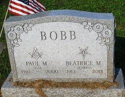 Paul M Bobb