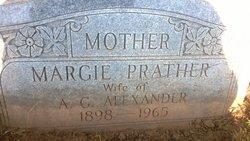 Margie Ima <I>Prather</I> Alexander