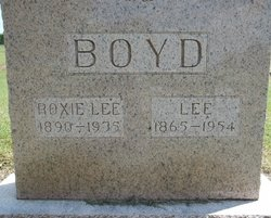 Roxie Lee <I>Yates</I> Boyd