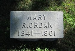 Mary <I>Cochran</I> Riordan