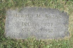 Mildred M. Wilson