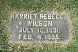 Harriet Rebecca <I>Dickey</I> Wilson