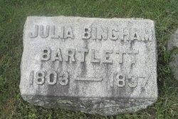 Julia <I>Bingham</I> Bartlett