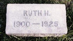 Ruth Henrietta <I>Bechtel</I> Martin