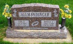 Minnie F <I>Moeller</I> Allmandinger