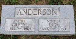 Inga <I>Johnson</I> Anderson