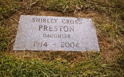 Shirley Blanche <I>Cross</I> Preston
