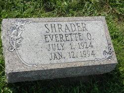 Everett Otis Shrader