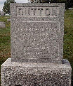 Infant Daughter Dutton
