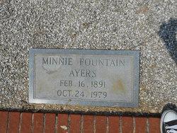 Minnie <I>Fountain</I> Ayers