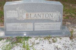 Ambrose Wiley Blanton