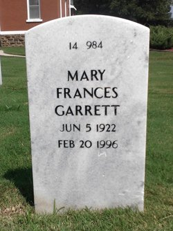Mary Frances Garrett
