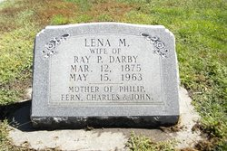 Lena M. <I>Burgert</I> Darby
