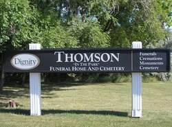 Thomson in the Park Cemetery