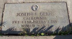 Joseph Frank Gerig