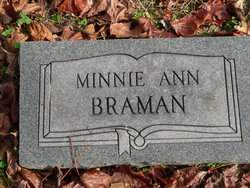 Minnie Ann Braman