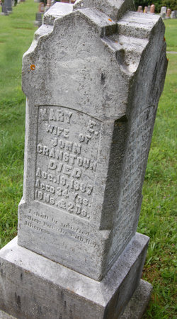 Mary Elizabeth <I>Errett</I> Cranstoun