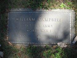 Pvt William Campbell