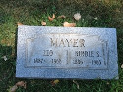 Birdie <I>Shaffer</I> Mayer