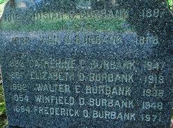 Elizabeth O. <I>Fitzgerald</I> Burbank