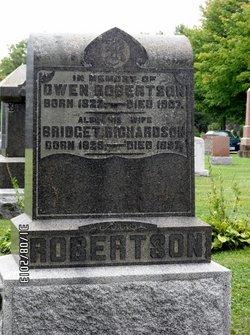 Bridget <I>Richardson</I> Robertson