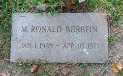 M Ronald Borbein