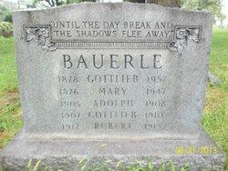 Gottlieb Bauerle