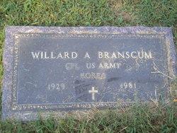 Willard A Branscum