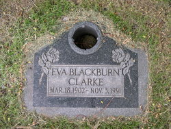 Eva Marie <I>Blackburn</I> Clarke